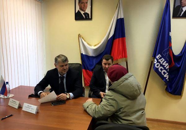 Анатолий Никифоров и Сергей Мелехин провели совместный депутатский прием