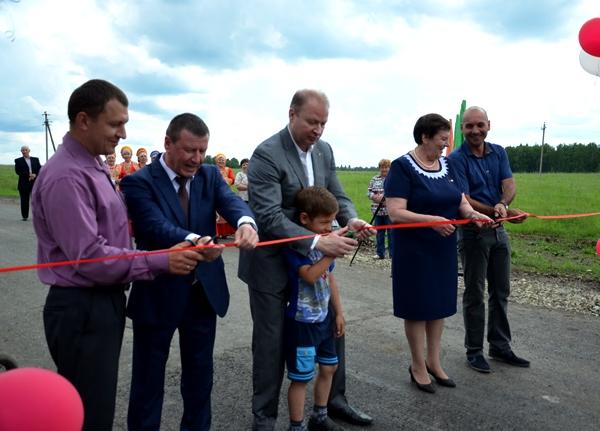 В селе Зубково Тугулымского района открыли новую дорогу