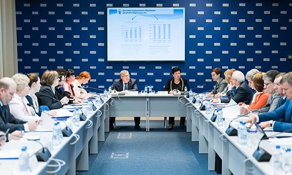 Социальная платформа «Единой России» направит в Минобразования предложения по повышению доступности ясельных групп