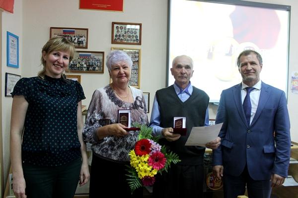 Игорь Володин поздравил пары, прожившие вместе 50 лет