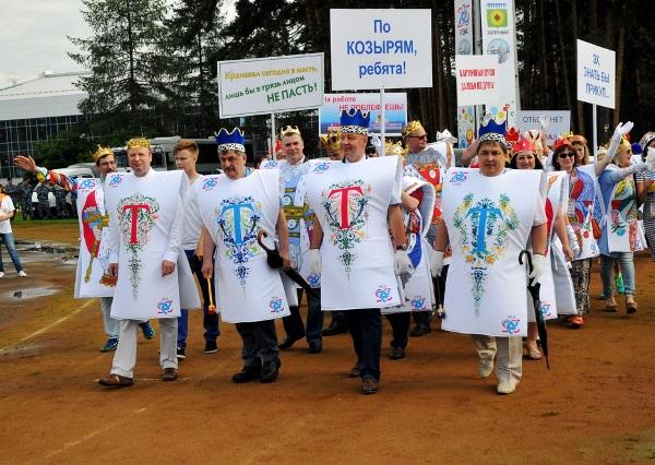 Виктор Шептий принял участие в зареченском карнавале