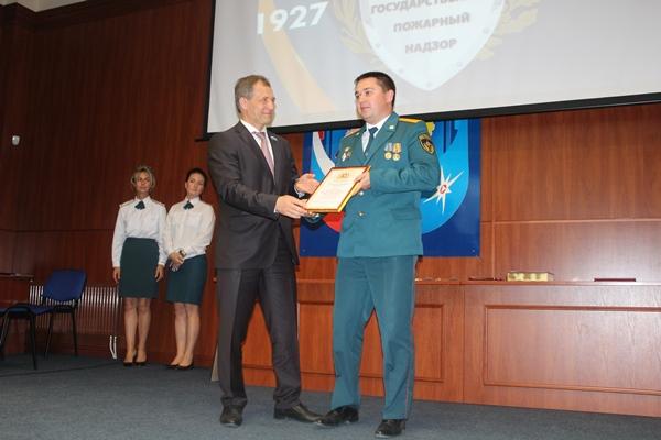 Игорь Володин поздравил сотрудников Государственного пожарного надзора