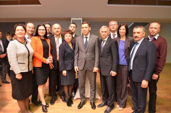 Серовские депутаты приняли участие во встрече с Евгением Куйвашевым