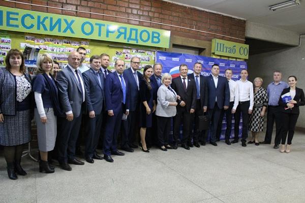 Партийные проекты охватывают все сферы жизни Орджоникидзевского района
