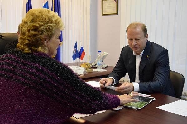 Виктор Шептий: Предложения по внесению изменений в законодательство зачастую инициируются в ходе личных приемов граждан