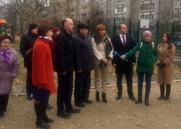 Благоустройство дворов в Екатеринбурге выходит на финишную прямую