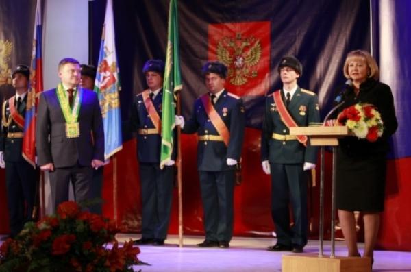 Партийцы приняли участие в инаугурации главы Камышлова