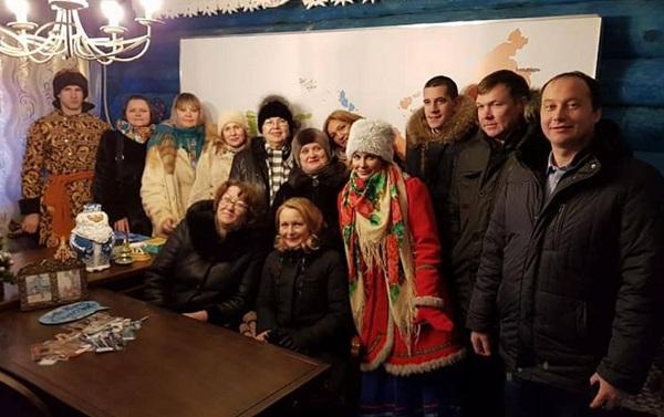 Делегаты XVII Съезда посетили «Парк сказов»под Екатеринбургом