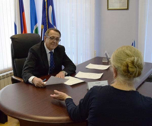 Анатолий Сухов: Общественные приемные должны быть максимально открыты для населения