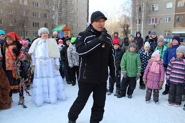 Народные гуляния объединили сотни жителей Орджоникидзевского района
