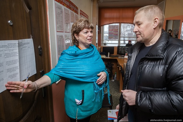 Депутат Государственной Думы РФ Андрей Альшевских проголосовал на выборах Президента