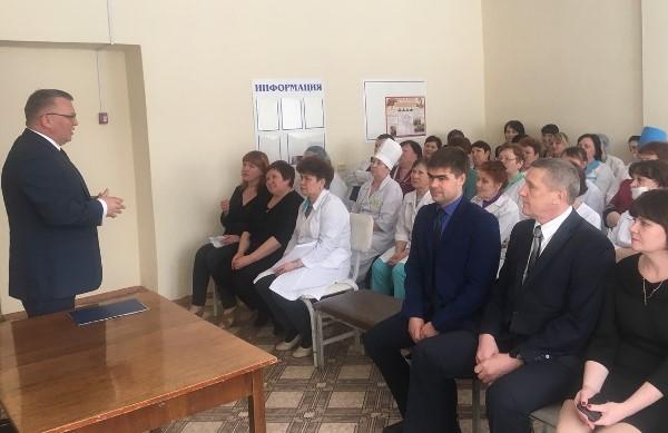 Сергей Никонов окажет поддержку в реализации основных социальных проектов Верхней Туры