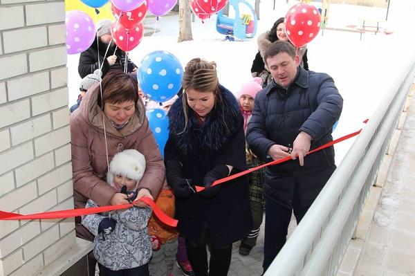 В Каменске-Уральском открылся новый детский сад