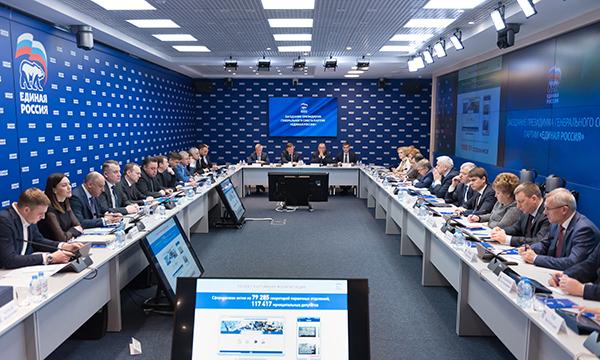 Андрей Турчак: Результаты выборов главы государства доказали право ЕР называться президентской Партией