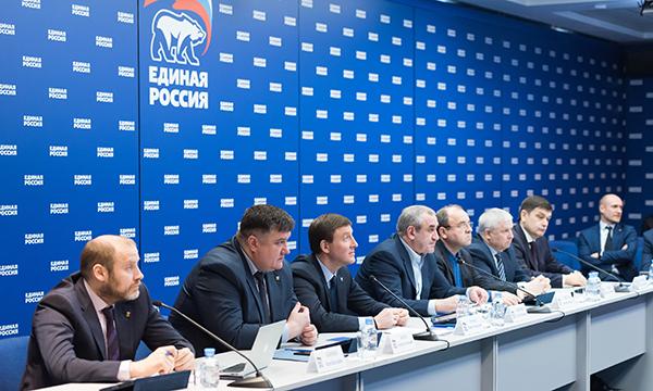 В ЦИК «Единой России» прошло первое заседание Совета руководителей фракций Партии в обновленном составе