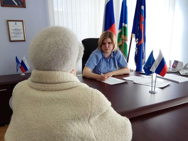 Состоялся тематический прием Отделения Пенсионного фонда по Свердловской области