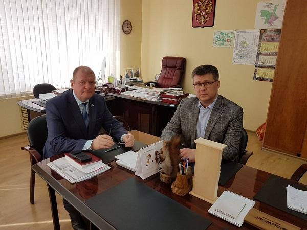 В Екатеринбурге обсудили взаимодействие «Единая Россия» и крупнейшего вуза Октябрьского района