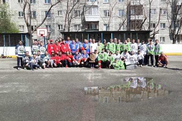 Игорь Володин помог организовать турнир по роллеркею