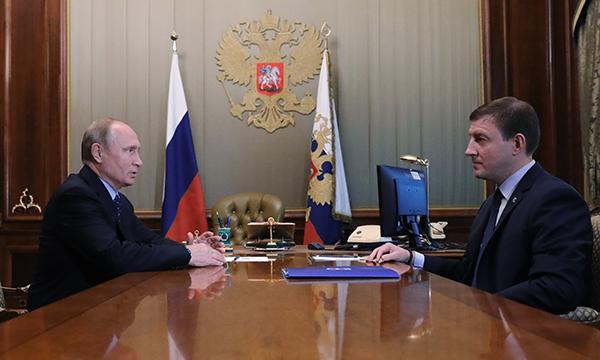 Владимир Путин провел встречу с секретарем Генсовета Партии Андреем Турчаком