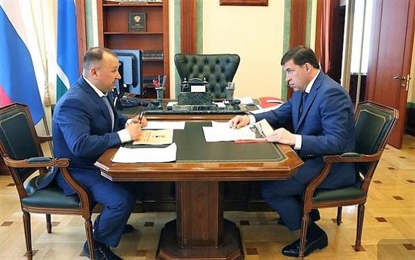Губернатор Свердловской области поддержал проект реконструкции Парка Декабристов в Туринске