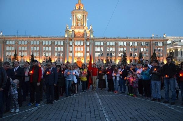 Свердловские единороссы примут участие во всероссийской акции «Свеча памяти»