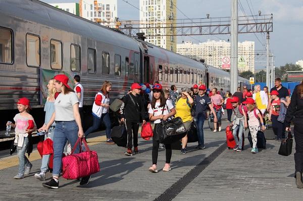 Фоторепортаж: Из Екатеринбурга в Анапу отправился «Поезд здоровья»