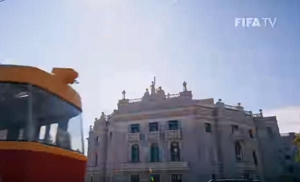 Видео: Екатеринбург попал в ролик о чемпионате мира от FIFA