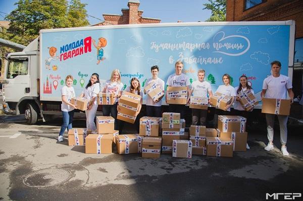 Через Екатеринбург сегодня пройдет грузовик с гуманитарной помощью Забайкалью