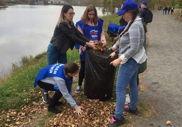 Экологическая акция «Зеленая Россия» в Алапаевске