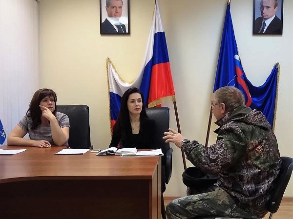 В Общественной приемной состоялся прием министерства социальной политики Свердловской области