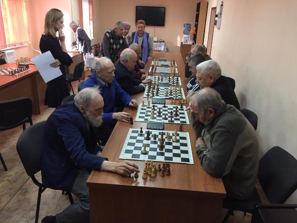 В Октябрьском районе прошел ежегодный шахматный турнир