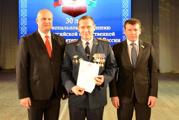 Дмитрий Жуков вручил награды ветеранам уголовно-исполнительной системы