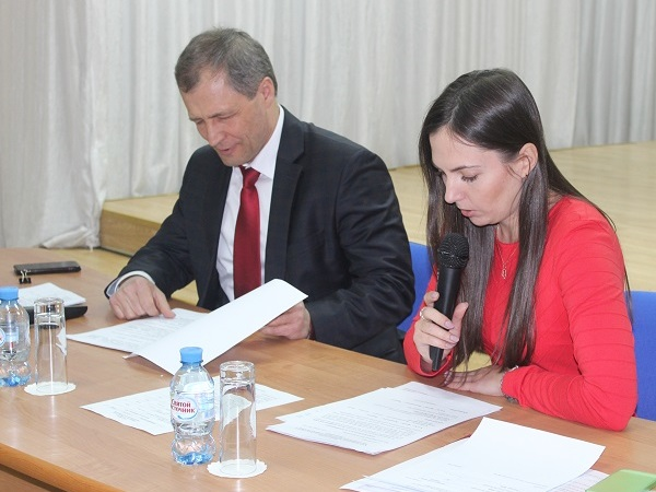 В Орджоникидзевском районе прошла Конференция местного отделения Партии