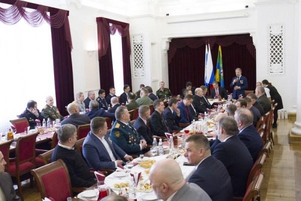 В Екатеринбурге состоялся торжественный прием ветеранов боевых действий в Афганистане