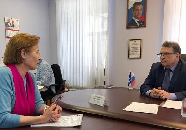 Состоялся личный прием депутата Законодательного Собрания Свердловской области Анатолия Марчевского