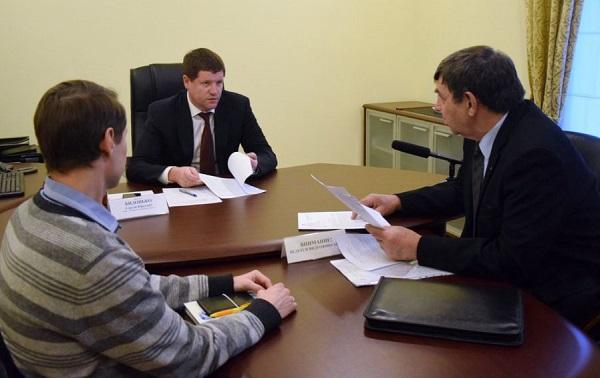 Вице-губернатор Свердловской области, единоросс Сергей Бидонько провел личный прием граждан