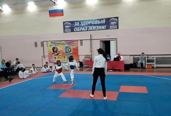 В Белоярском округе прошли соревнования по тхэквондо