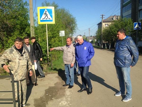 «Безопасные дороги» взяли на контроль ситуацию в Артемовском