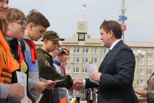 Алексей Шмыков: «Процветание родного города - дело чести каждого из нас»