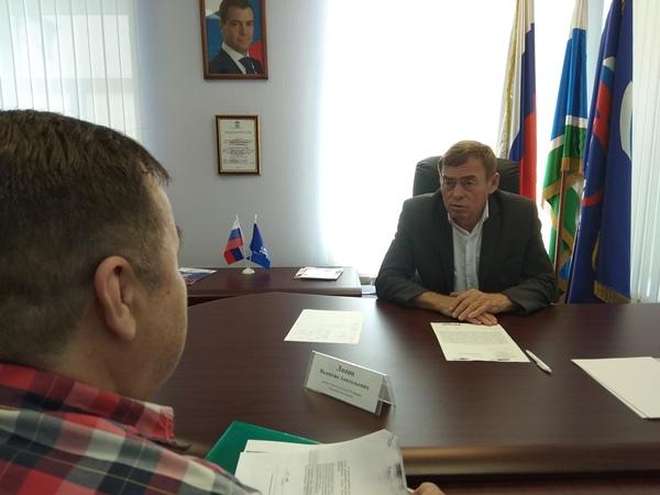 Валентин Лаппо провел прием граждан