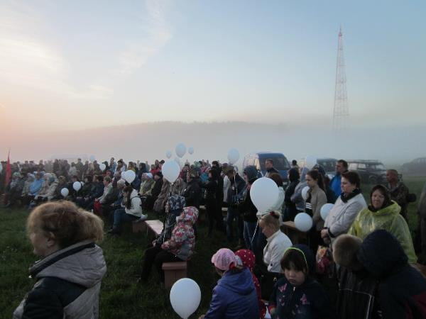 Белоярские партийцы приняли участие в акции «Свеча памяти»