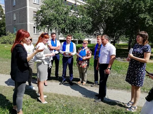 «Замечания от жителей приняты во внимание»: мониторинговая группа проверила благоустройство дворов
