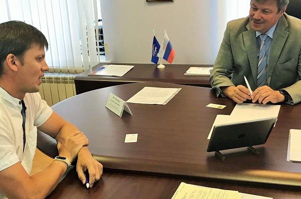 Депутат Государственной Думы Андрей Ветлужских провел прием граждан