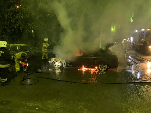 Стали известны подробности поджога машины партийца Дмитрия Чукреева (ФОТО, ВИДЕО)