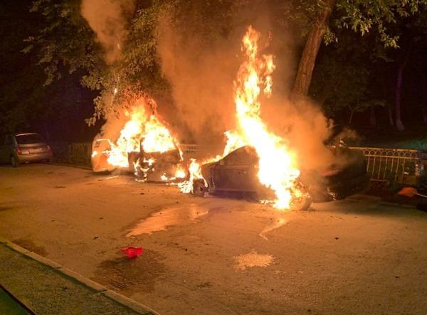 Злоумышленники сожгли машину координатора партпроекта Дмитрия Чукреева