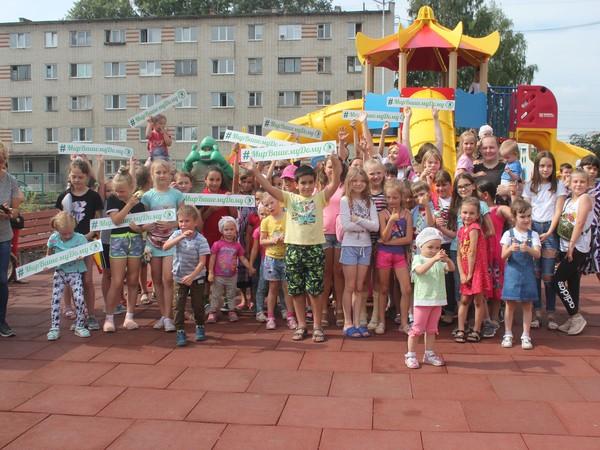 В День города в Чкаловском районе состоялось открытие обновленной дворовой площадки