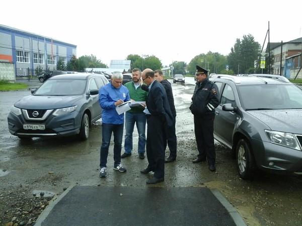 В Красноуфимске проект «Безопасные дороги» проверил ход выполнения поручений Президента