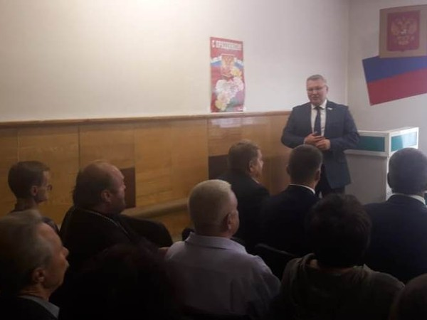 Сергей Никонов поздравил коллектив шахты «Южная» города Кушвы с Днем шахтера