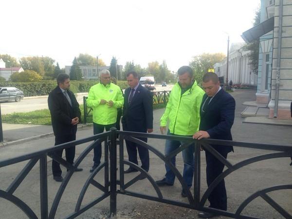Проект «Безопасные дороги» проверил в Камышлове ход выполнения поручений Президента