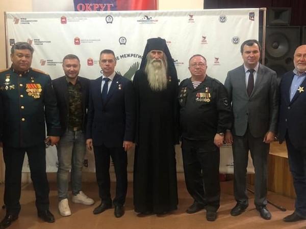 Сергей Воронин принял участие в слете поисковых отрядов